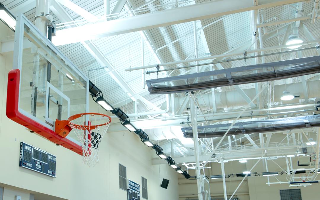 Custom Gym Equipment Creates Multipurpose Sports Center
