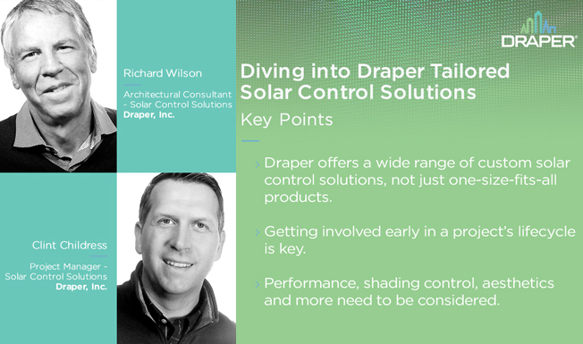 Ep.4: Diving into Draper Tailored Solar Control Solutions
