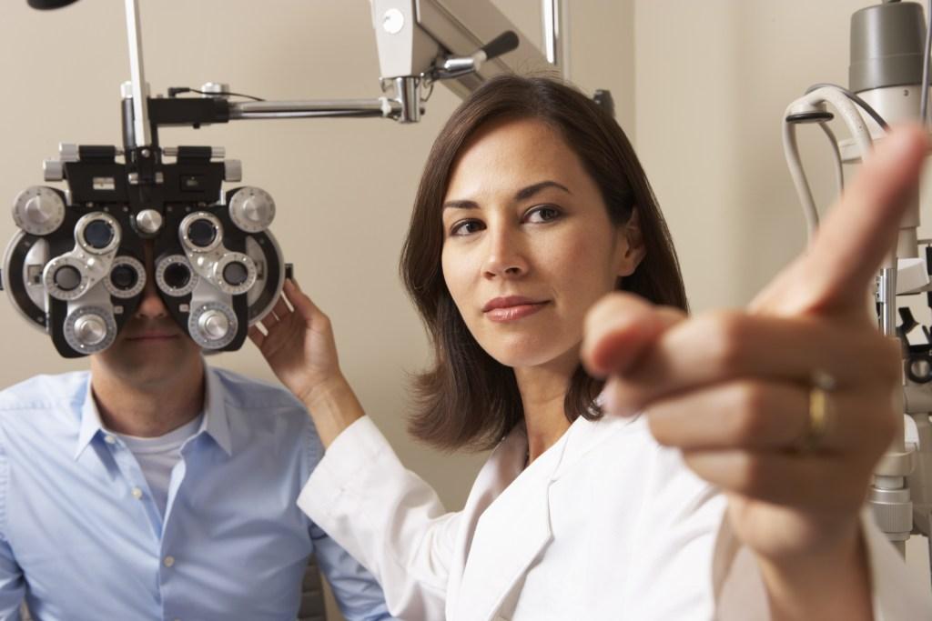Para que serve o exame dos olhos?