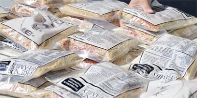 rice packages meal packing