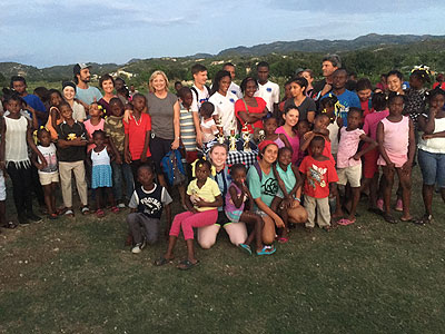 haiti group shot