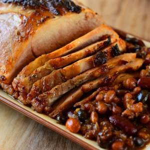 fall crockpot recipe Maple Glazed Pork Tenderloin