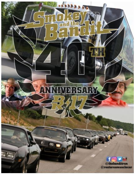 40th Anniversary Bandit Run Starts June 17, 2017