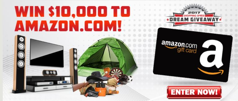 Win a $10,000 Shopping Spree on Amazon.com!