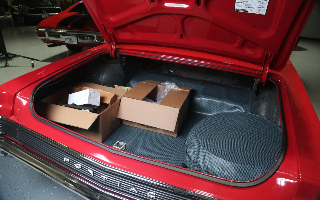 GTO Trunk Space More Than an SUV Cargo Space?
