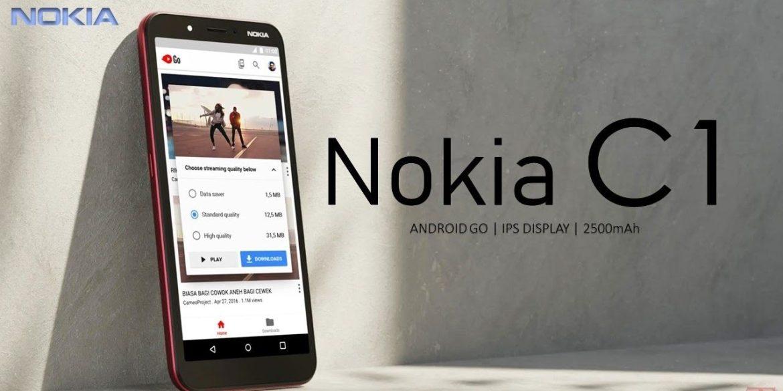 【後備之選】超平價入門機Nokia C1 睇片/打機/影相樣樣得…