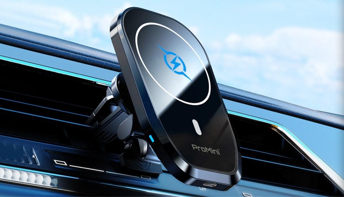 好物推介 | ProMini Mag Mount 磁吸無線充電車載支架