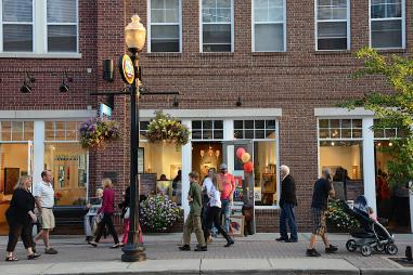 Activity in the Carmel Arts & Design District_preview