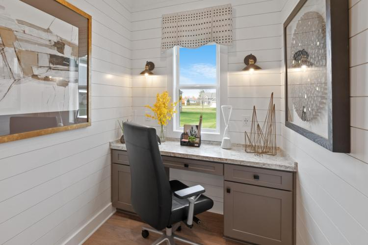 Emerging Home Design Philosophies That Will Dominate in 2021 | Drees Homes | The Belleville Pocket Office
