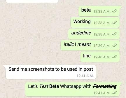 WhatsApp Hidden Secret Beta Features