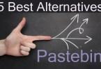 best alternatives of pastebin
