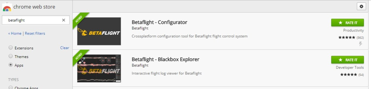 Betaflight-Gui-chrome