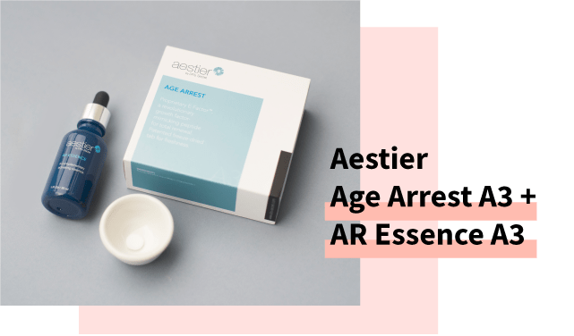 Aestier Age Arrest A3 and AR Essence A3