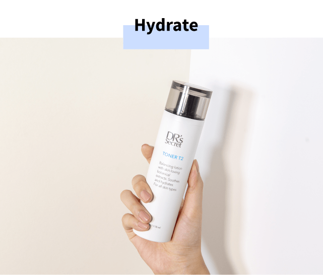 Hydrate with DR's Secret Toner T2