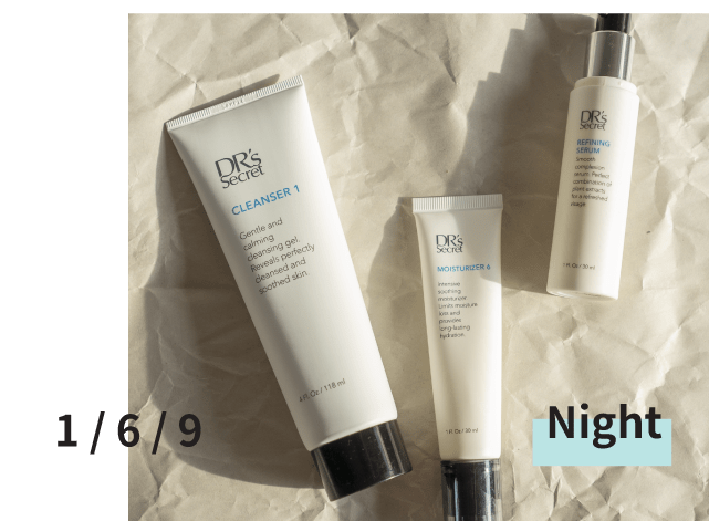 DR's Secret Skin Care Night Routine