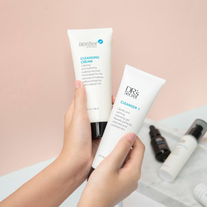 卸妆乳霜A1,洁肤液1
