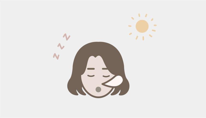 Lack of sleep graphic