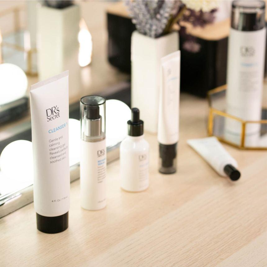 Customised skin care routine