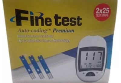 Fine test in Nigeria
