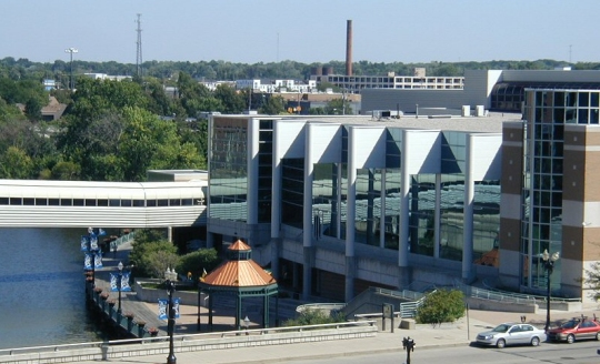 This is the Lansing Center, where the conference was held.