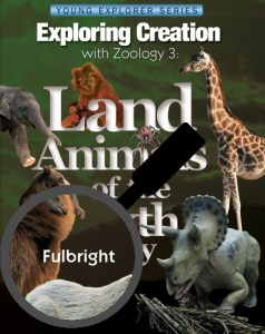 The cover from one of the many excellent elementary science books authored by Jeannie Fulbright.