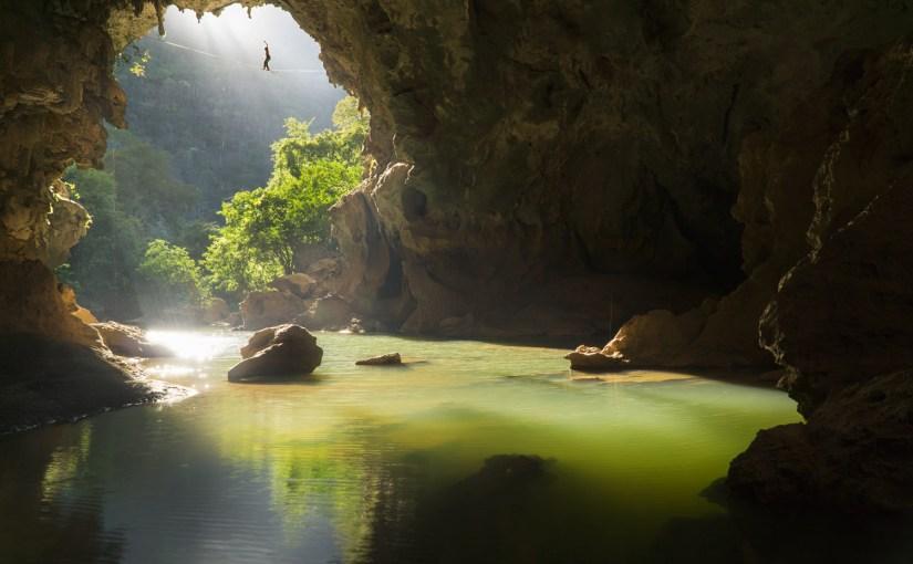 Rock Climbing in Laos! Green Climbers Home