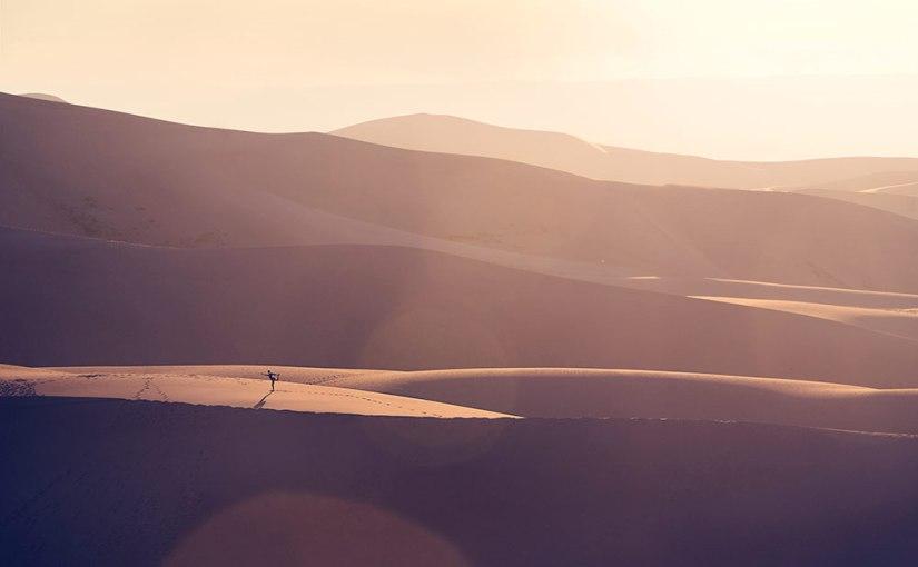 Birthday in the Sand Dunes
