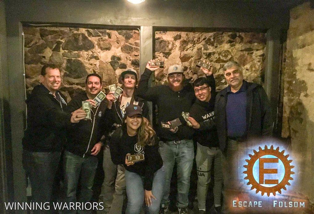 Escape Folsom (Team 2) on 2019-03-27