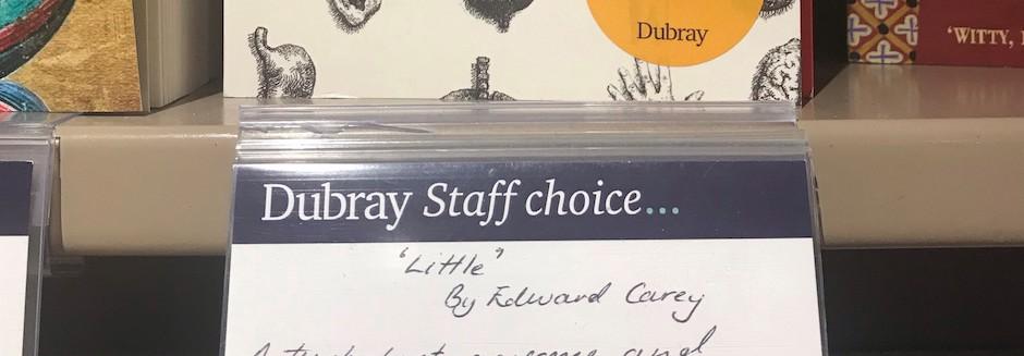 Staff Choice card