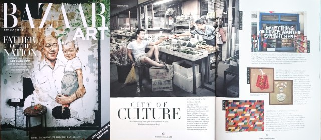 Harper's Bazaar LKY issue