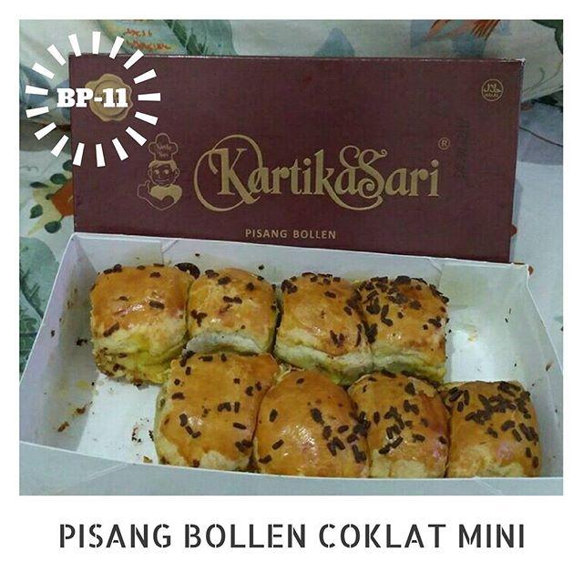 Pisang Bollen Coklat Mini via IG @kartikasaribandung_