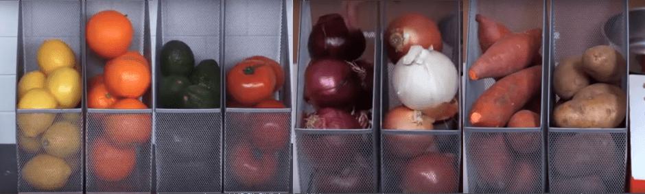Tempat Meletakkan Buah & Bumbu Dapur via Olahan Dunia Masak