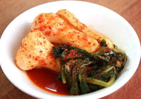 Chonggak via maangchi.com ala tim duniamasak.com