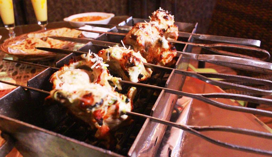 Chicken Malai Tikka D'Bollywood Bar & Restaurant Makanan Masakan India Jakarta
