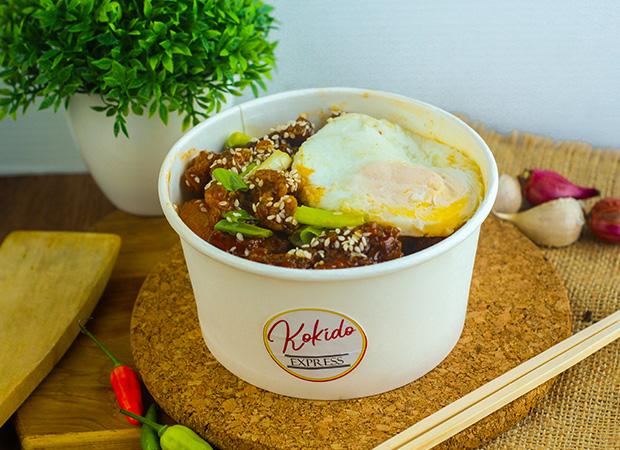 Fire Chicken Rice Bowl dok. duniamasak