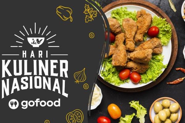 Hari Kuliner Nasional Go Food via freepik ala tim duniamasak.com