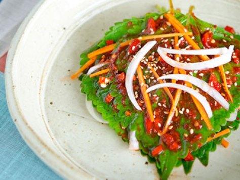 Kkaenip via koreanfoodgalery.com ala tim duniamasak.com
