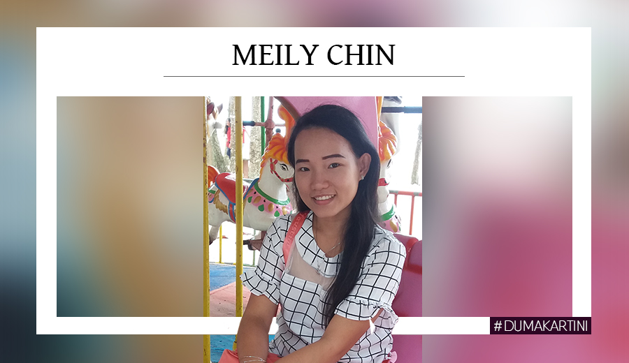 Meily Chin sebagai dumakartini 2019