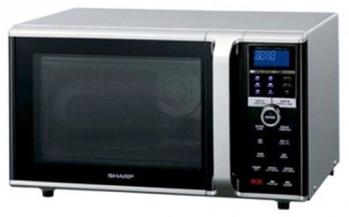 Microwave via Duniamasak.com