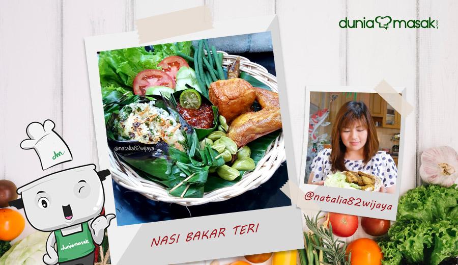 Resep Natalia Wijaya Nasi Bakar Teri