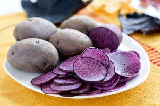 Kentang ungu via rotinrice.com ala tim duniamasak.com