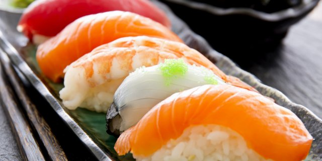 Sushi via ninjasushiroseville.com