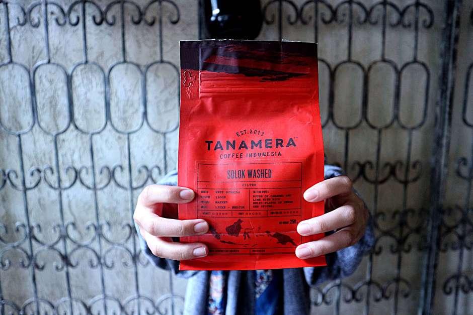 Tanamera Produk Kopi Sumatera Barat via. Duniamasak.com