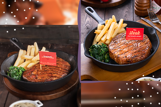 Makanan di Steak Hotel by HOLYCOW! dok. Wynda Mardio ala duniamasak