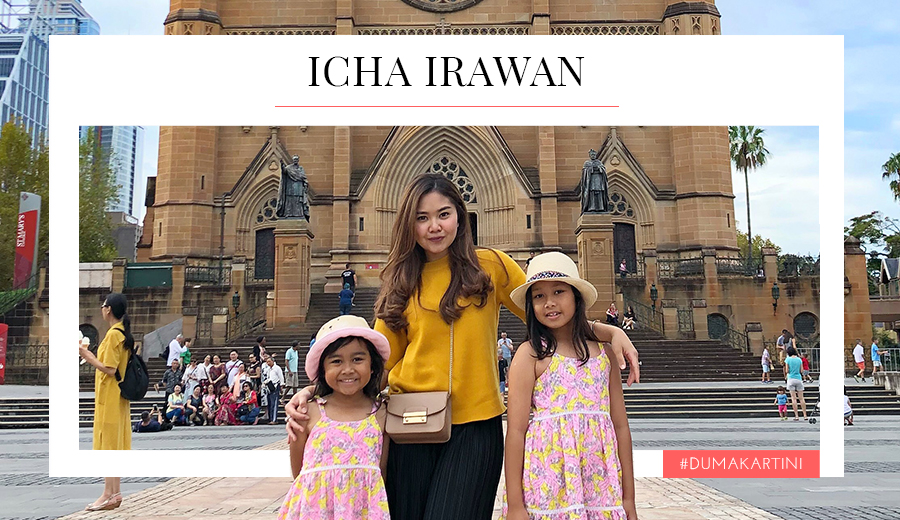 Icha Irawan untuk Kartini Duma via DuniaMasak