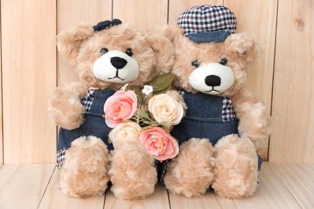 Bisnis hari valentine boneka via freepik ala duniamasak