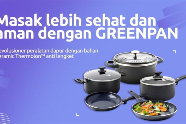 GREENPAN dok. duniamasak.com