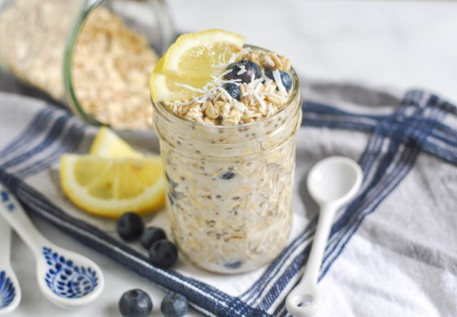 Sarapan Sehat Overnight Oats via www.bewholebeyou.com