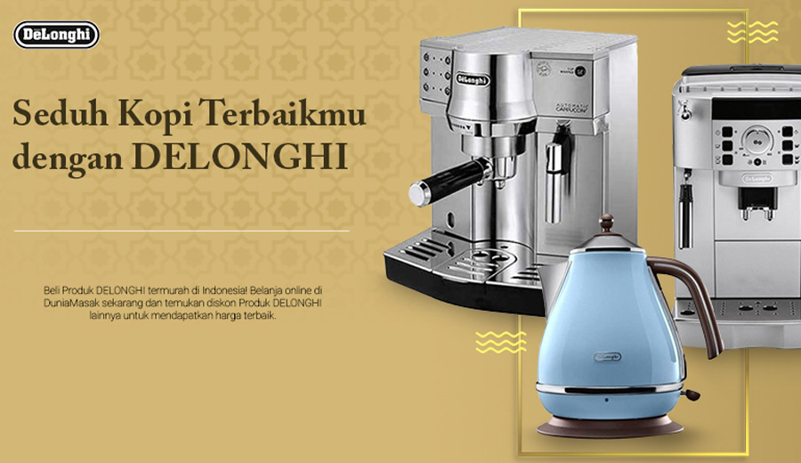 Mesin kopi Delonghi dok. duniamasak