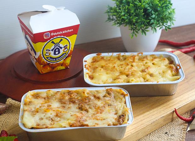 Pasta lasagna baked mac n cheese dok. duniamasak